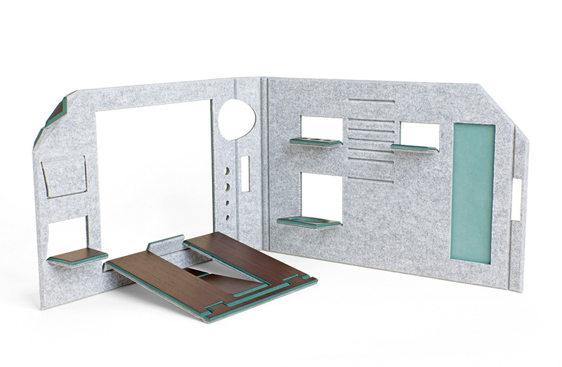 FOLDABLE OFFICE - GREEN